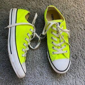 Converse Shoes - Converse All-Stars fluorescent yellow men's 7